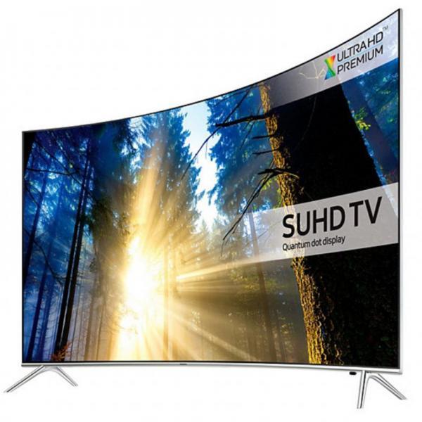 """55"""" Samsung UE55KS7500 Curved 4K Super UHD HDR Smart LED TV"""