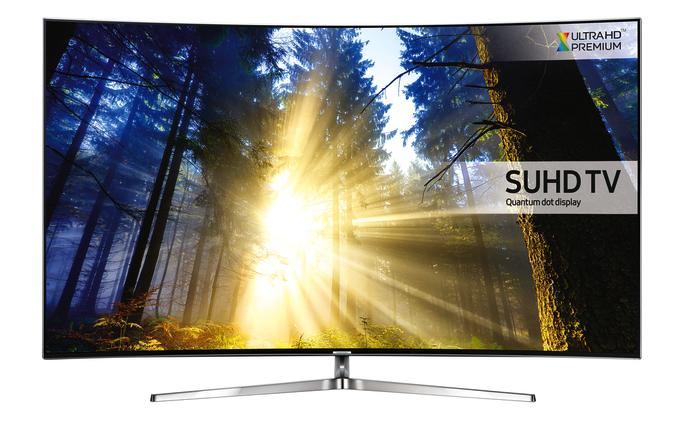 65 Samsung UE65KS9000 4K SUHD Freeview Freesat HD Smart  Curved LED HDR TV