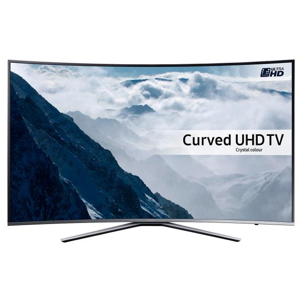 "49"" Samsung UE49KU6500 Curved 4K Ultra HD HDR Freeview HD Smart LED TV"