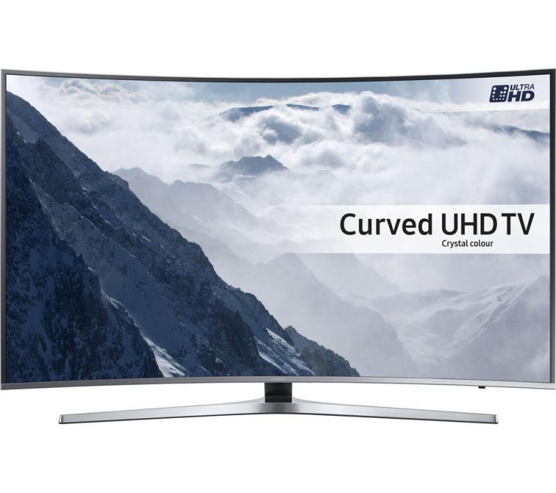 "65"" Samsung UE65KU6680 Curved 4K Ultra HD HDR Smart LED TV"