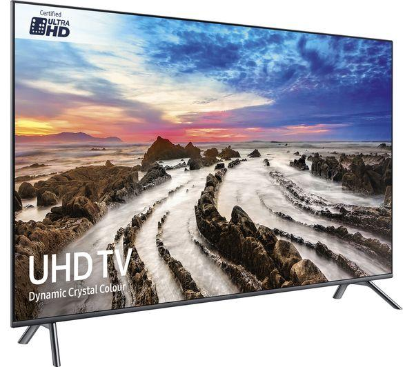 "65"" Samsung UE65MU7070 4K Ultra HD Freeview Freesat HD Smart LED HDR TV"