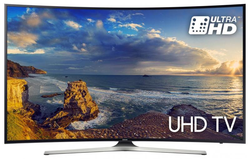 "49"" Samsung UE49MU6220 Curved Ultra HD HDR 4K Freeview HD Smart LED TV"