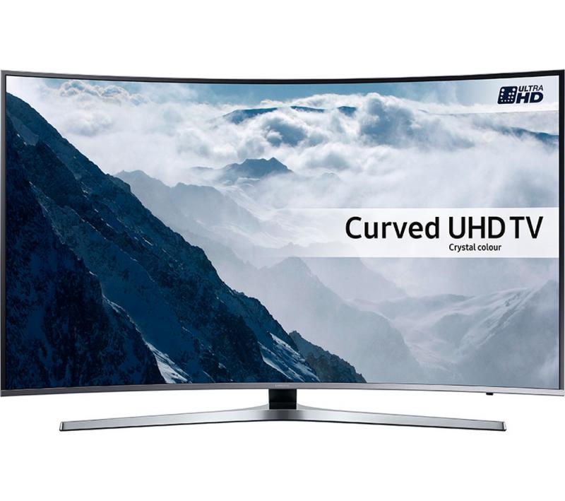 "55"" Samsung UE55KU6670 Curved Ultra HD HDR 4K Freeview HD Smart LED TV"