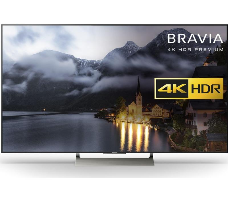 """49"""" Sony KD49XE9005 4K Ultra HD HDR Freeview HD Smart Android LED TV"""
