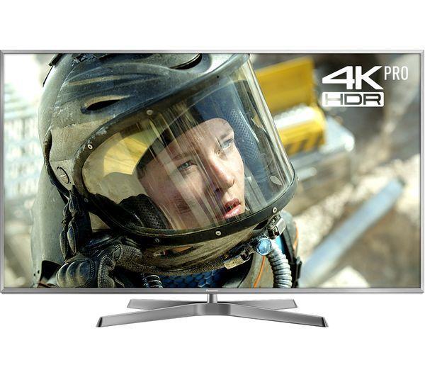 "50"" Panasonic TX-50EX750B 4K Ultra HD Freeview HD Smart 3D LED HDR TV"