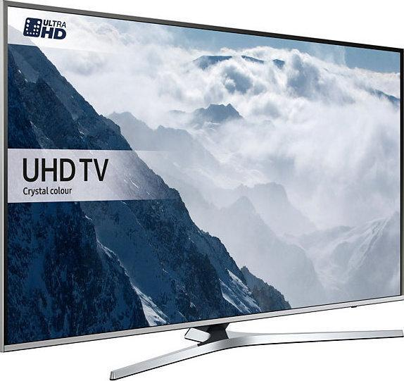 55 Samsung UE55KU6470 4k Ultra HD HDR Freeview Freesat HD Smart LED TV