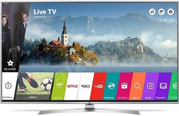 49 LG 49UJ701V 4K Ultra HD Freeview Freesat HD HDR Smart LED TV
