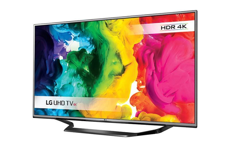"""55"""" LG 55UH625V 4k Ultra HD Freeview HD HDR Freesat Smart LED TV"""