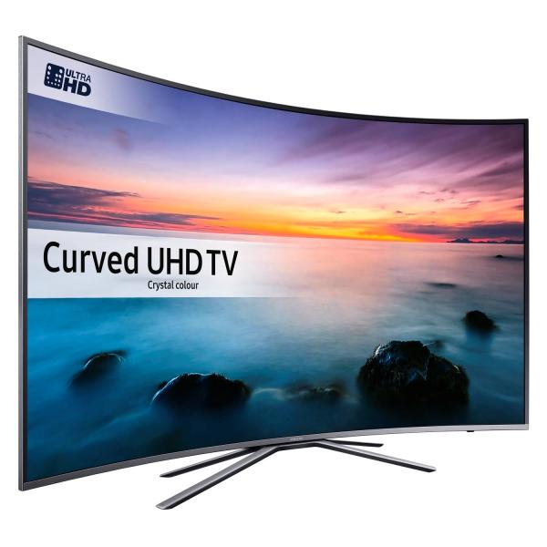 6becb0737398 43 Samsung UE43KU6500 Curved 4K Ultra HD HDR Freeview ...