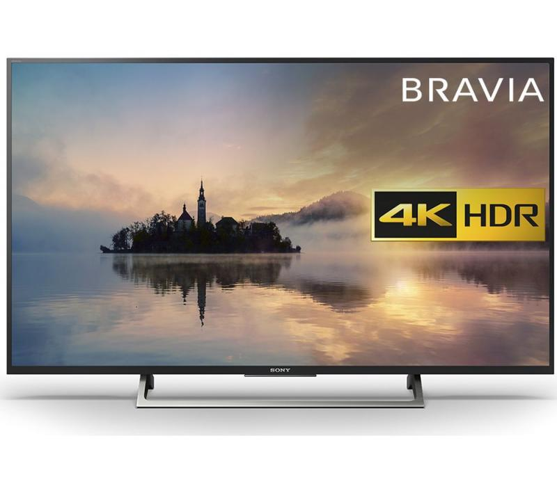 "49"" Sony KD49XE7002BU 4K Ultra HD HDR Freeview HD Smart LED TV"