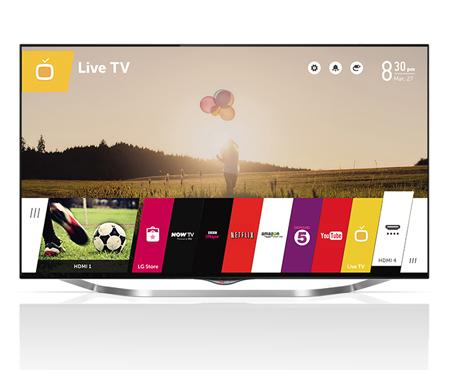 """49"""" LG 49UB850V 4k Ultra HD Freeview HD Smart 3D LED TV"""