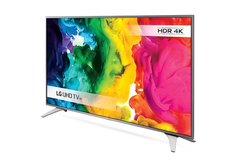 55 LG 55UH650V 4K Ultra HD Freeview HD Smart HDR LED TV