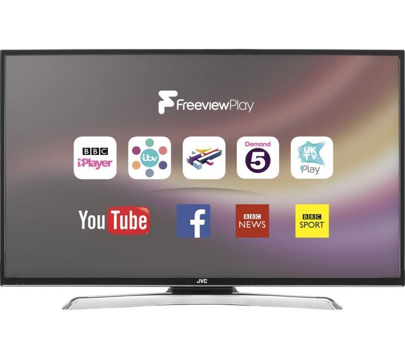 48 JVC LT48C770 Full HD 1080p Digital Freeview HD Smart LED TV