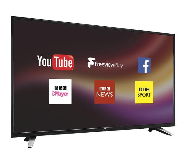 55 JVC LT55C760 Full HD 1080p Digital Freeview Smart LED TV