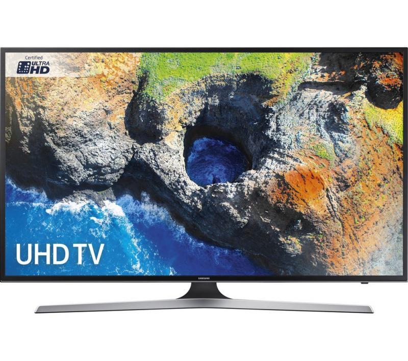 "50"" Samsung UE50MU6120 4K Ultra HD HDR Freeview HD Smart LED TV"
