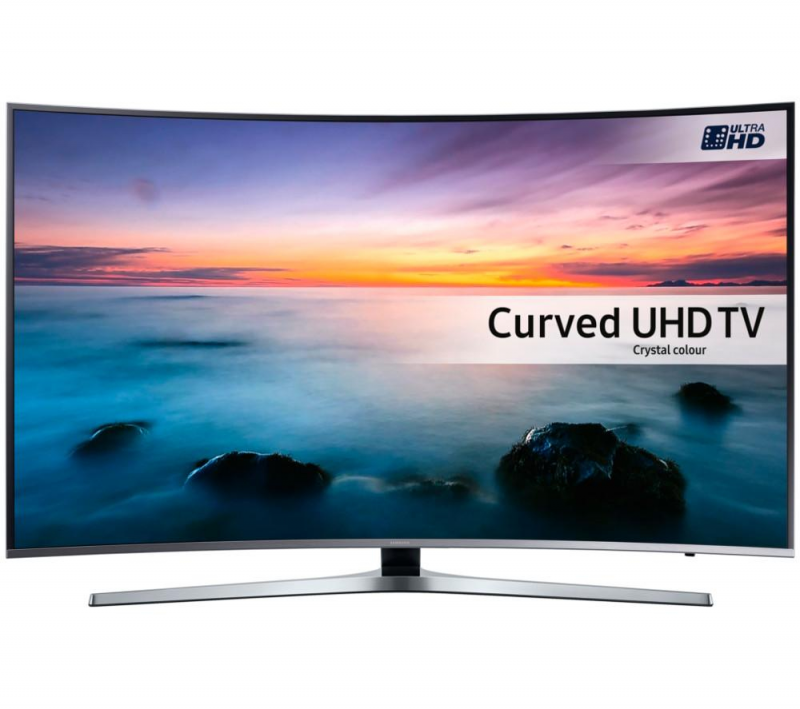 "49"" Samsung UE49KU6670 Curved Ultra HD HDR 4K Freeview HD Smart LED TV"