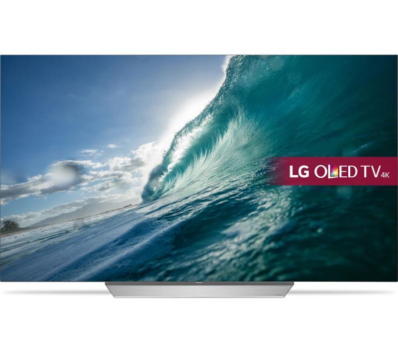 55 LG OLED55C7V 4K OLED Ultra HD HDR Freeview Smart TV