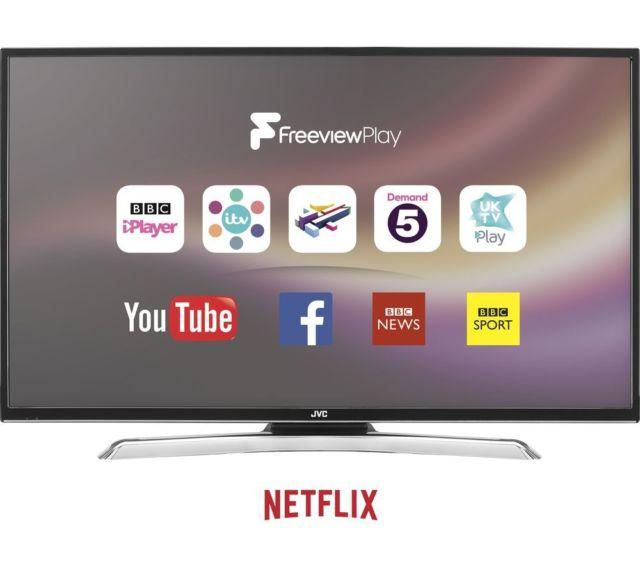 "55"" JVC LT-55C870 4K Ultra HD Freeview HD Smart LED TV"
