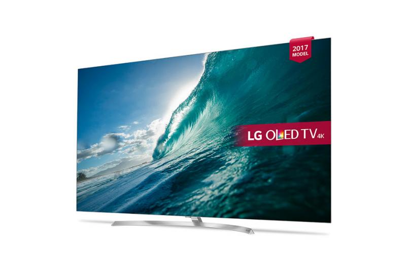 "55"" LG OLED55B7V 4K OLED Ultra HD HDR Freeview HD Smart TV"