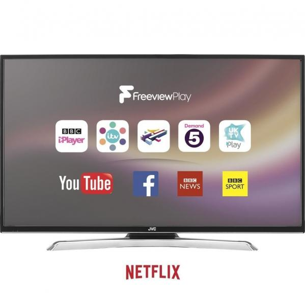 43 JVC LT-43C870 4K Ultra HD Freeview HD Smart LED TV