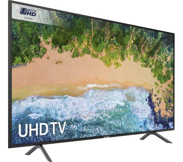 """55"""" Samsung UE55NU7100 4K Ultra HD HDR Smart LED TV"""