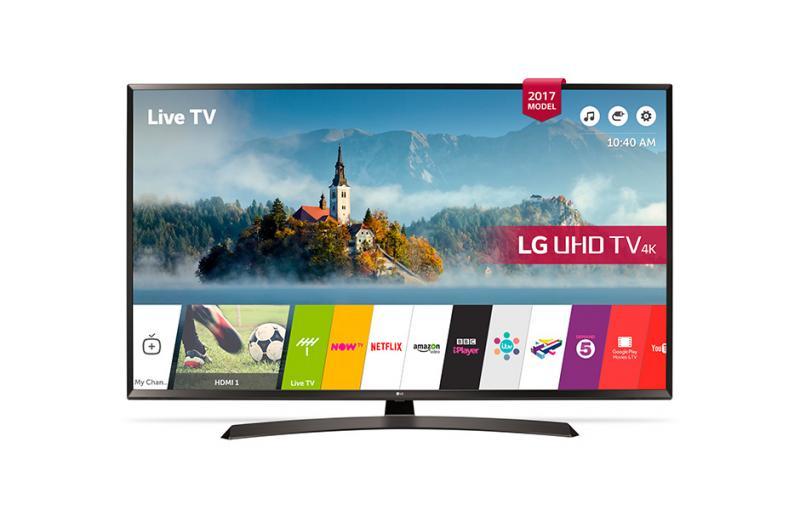 """60"""" LG 60UJ634 4K Ultra HD Freeview Freesat HD HDR Smart LED TV"""