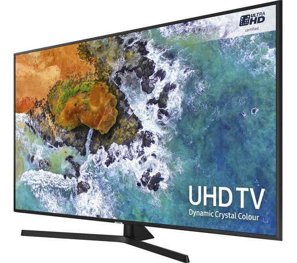 """50"""" Samsung UE50NU7400 4K Certified Ultra HD HDR Smart LED TV"""