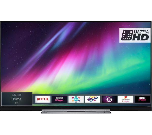 "55"" Toshiba 55U7863DB 4K Ultra HD HDR Smart LED TV"