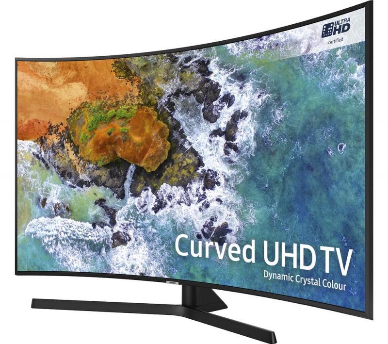 """49"""" Samsung UE49NU7500 4K Certified Ultra HD HDR Curved Smart LED TV"""