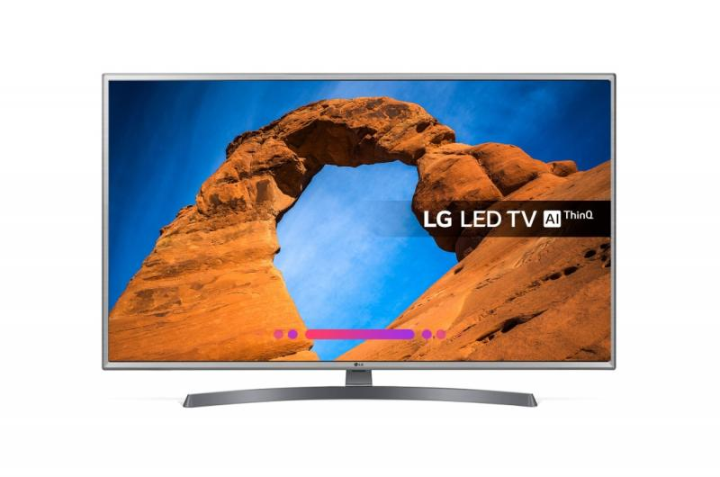 "49"" LG 49LK6100PLB Full HD 1080p Freeview HD Smart HDR LED TV"
