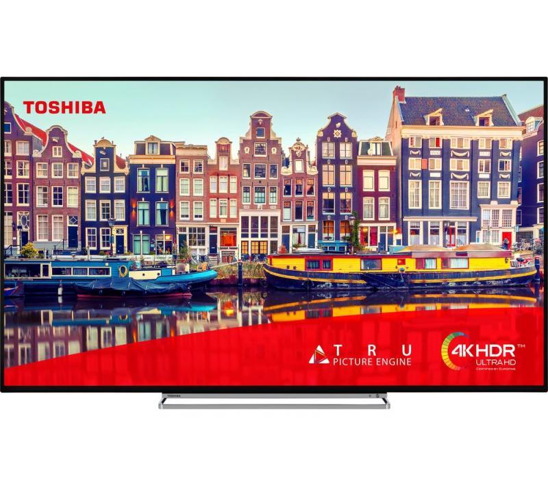 "43"" Toshiba 43VL5A63DB 4K Ultra HD HDR Freeview Play Smart LED TV"