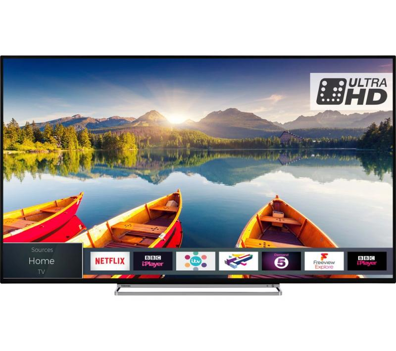 "43"" Toshiba 43U6863DB 4K Ultra HD HDR Smart LED TV"