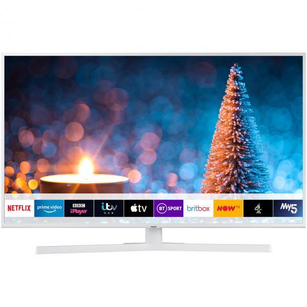 "43"" Samsung UE43RU7410 4K Certified Ultra HD HDR Smart White LED TV"