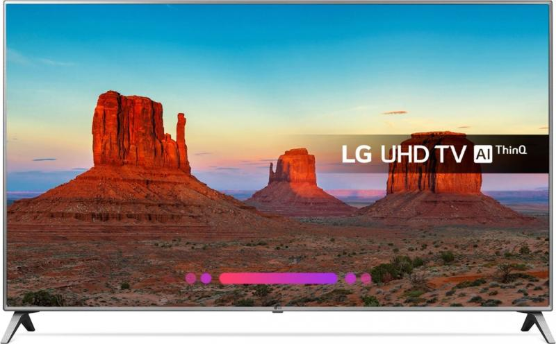 "55"" LG 55UK6500PLA 4K Ultra HD HDR Freeview Freesat HD Smart LED TV"