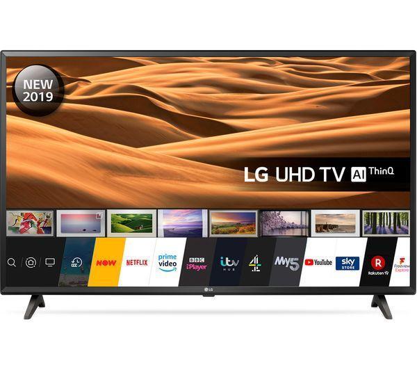 "75"" LG 75UM7000PLA 4K HDR Freeview Play Smart LED TV"