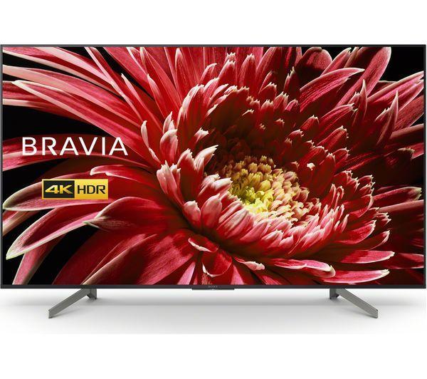 "65"" Sony KD65XG8796BU 4K Ultra HD HDR Android Smart LED TV"
