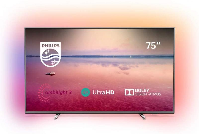 "75"" Philips 75PUS6754 Ambilight 4K Ultra HD HDR Smart LED TV"