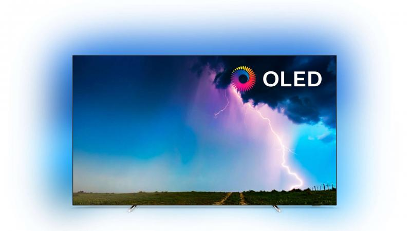"55"" Philips 55OLED754/12 Ambilight 4K HDR Smart OLED TV"