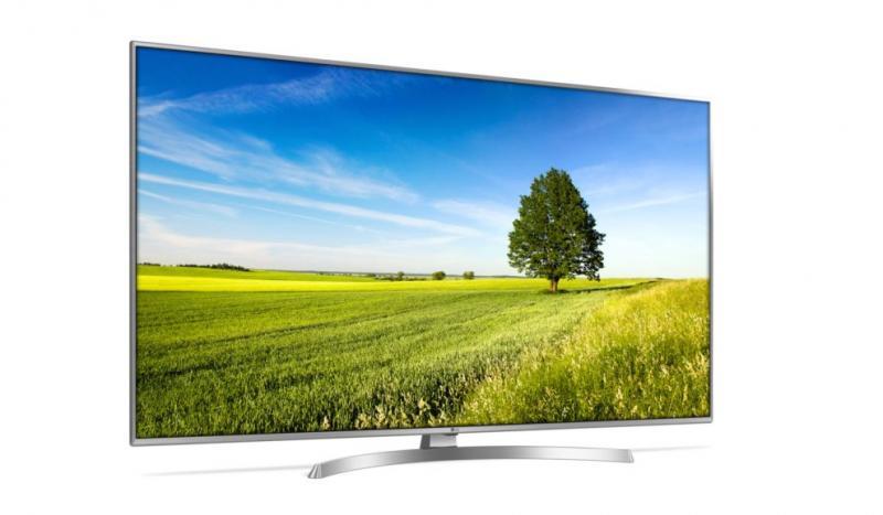 "55"" LG 55UK6950PLB 4K Ultra HD HDR Freeview Freesat HD Smart LED TV"