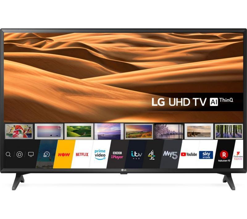 "43"" LG 43UM7050PLF 4K HDR Freeview Play Smart LED TV"