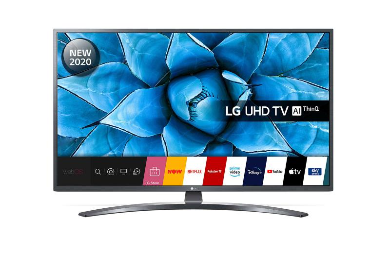 "50"" LG 50UN74006LB 4K Ultra HD HDR Smart LED TV"