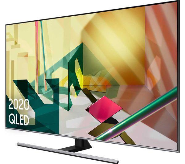 """75"""" Samsung QE75Q75TATXXU Quantum 4K UHD HDR QLED TV"""