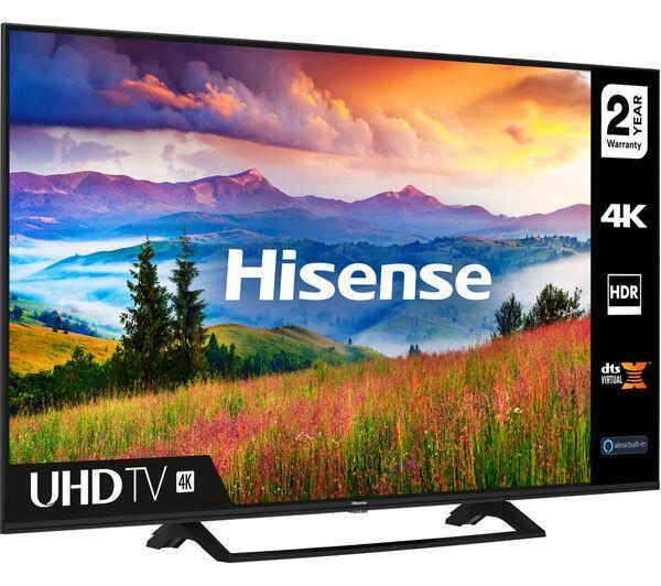 "65"" Hisense 65A7300FTUK 4K Ultra HD HDR Freeview Play Smart LED TV"