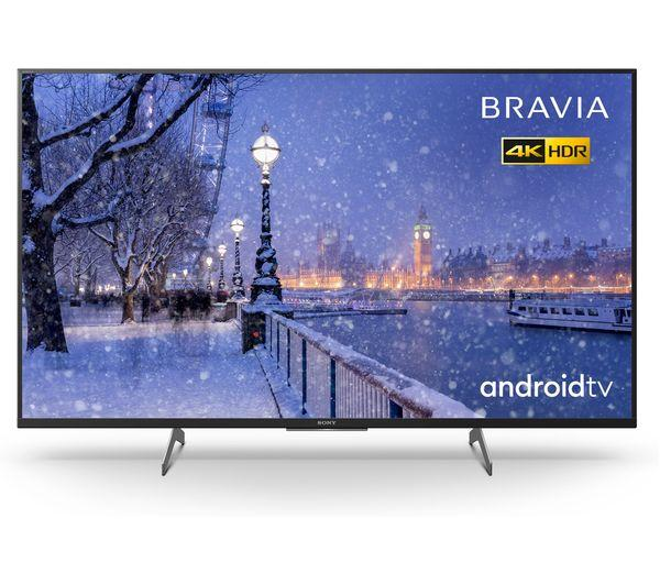 """49"""" Sony Bravia KD49XH8505BU 4K HDR Android Smart LED TV"""