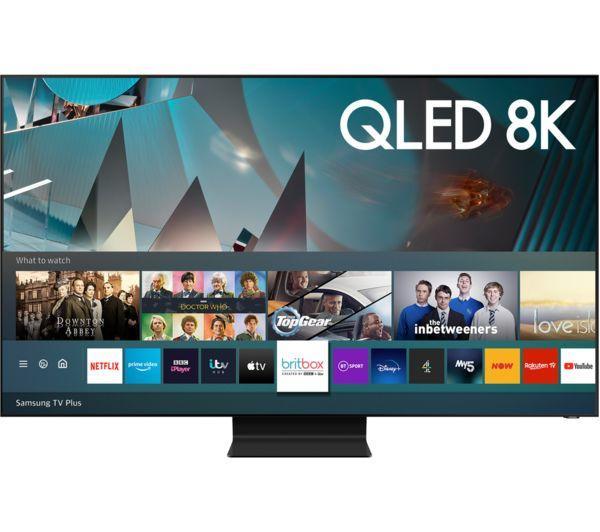 "65"" Samsung QE65Q800TATXXU Premium 8K HDR QLED TV"