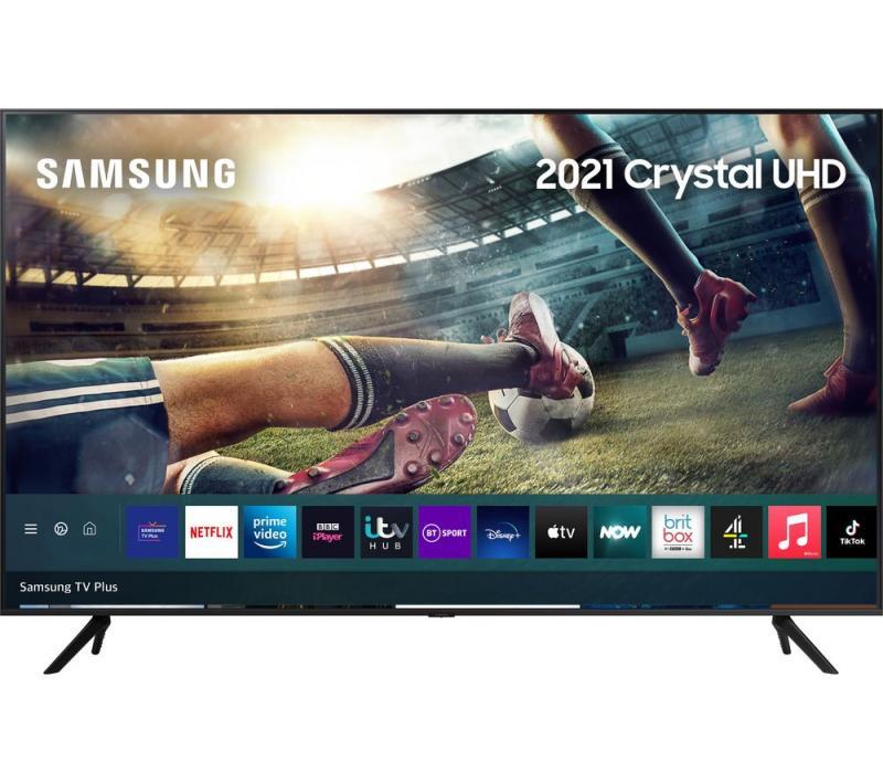 """50"""" Samsung UE50AU7100 4K HDR Crystal Smart LED TV"""