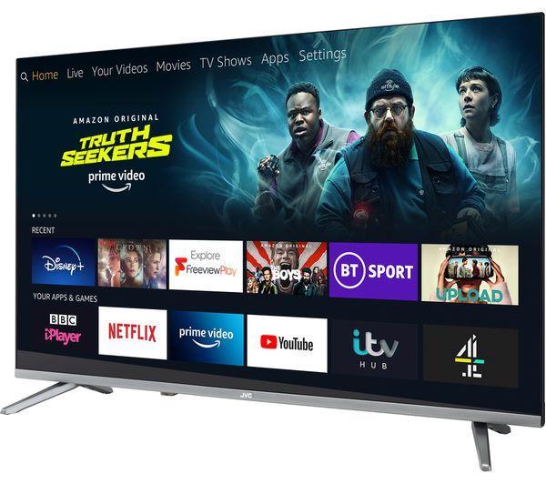 40 JVC LT40CF700 Full HD 1080p Digital Freeview Smart LED FIRE TV