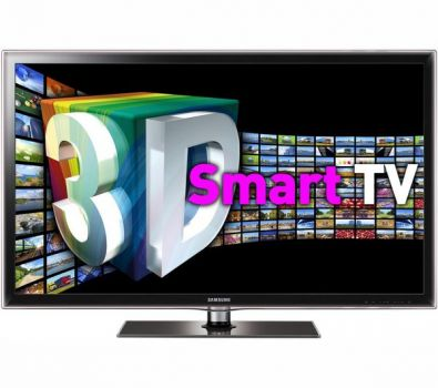 46 Samsung UE46D6100 Full HD 1080p Freeview HD Smart 3D LED