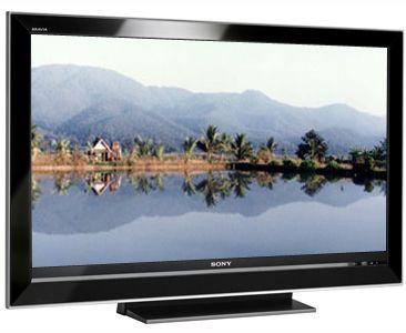 Black Tilting Wall Mount Bracket for Sony KDL-40V3000 LCD 40 inch HDTV TV