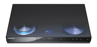 Samsung Blu ray BDC8500 500GB Hard Drive DVD Digital Recorder